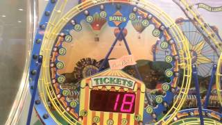 Chuck E. Cheese - TICKET TRACK - September 2014 FREEZE Arcade Gameplay