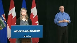 Alberta update on COVID-19 – April 27, 2020