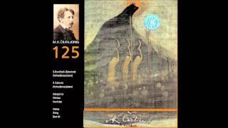M. K. Čiurlionis - String Quartet c moll VL83  Andante pastorale