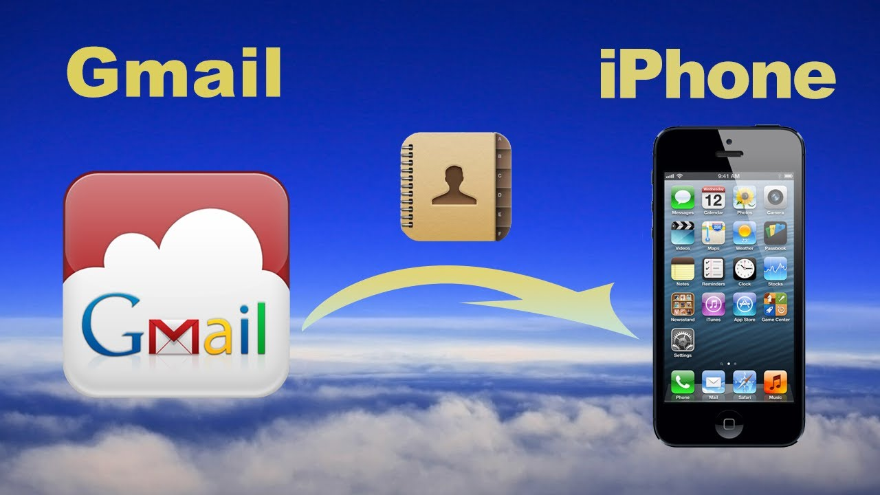 google contacts on iphone sync gmail contacts how to import contacts to 2937