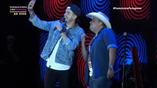 Transmissão Live Festa Junina da Portuguesa, Humberto & Ronaldo, Casalzinho