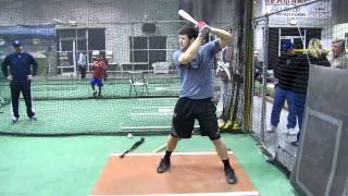 Bryce Harper Swinging The Biggest Bat On Earth @ Bat-R-Up Las Vegas