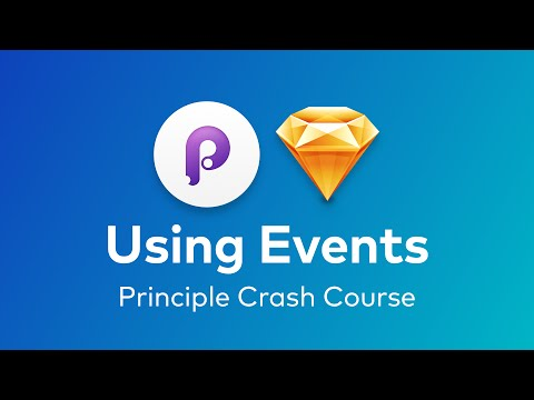 Principle - Connecting Screens and and Using Events