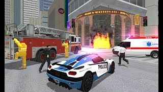 UK Police Car Crime Driving (by Game Pickle) - Game Gameplay Trailer (Android, iOS) HQ