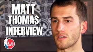 Raptors Guard Matt Thomas' journey to the NBA | NBA Countdown