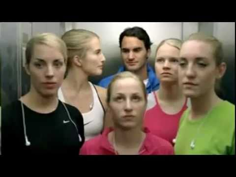 Nike Commercial- Men VS Woman(Federer,Torres,Ibrahimovic..)