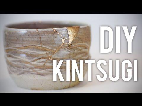 How to Fix Broken Pottery : Kintsugi : DIY