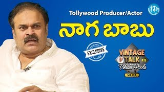 Tollywood Producer and Actor Naga Babu Exclusive Interview || Talking Politics With iDream #66