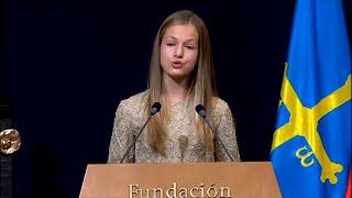 La princesa Leonor destaca la importancia de la solidaridad y la responsabilidad