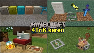 4 Trik Keren yang Mungkin kalian blm ketahui di MinecraftPE!