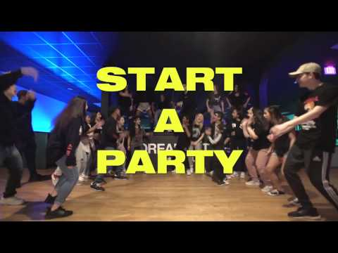 @raesremmurd @jxmmi @goswaelee - Start A Party | The Sandlot | Choreography by Khalil Mcneil