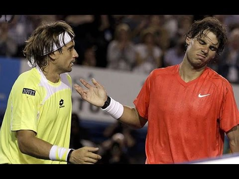 David Ferrer VS Rafael Nadal Highlight 2011 AO QF