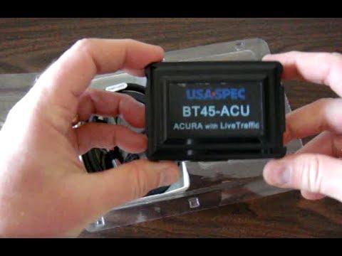 USA spec BT45ACU Bluetooth install on 2007 Acura MDX