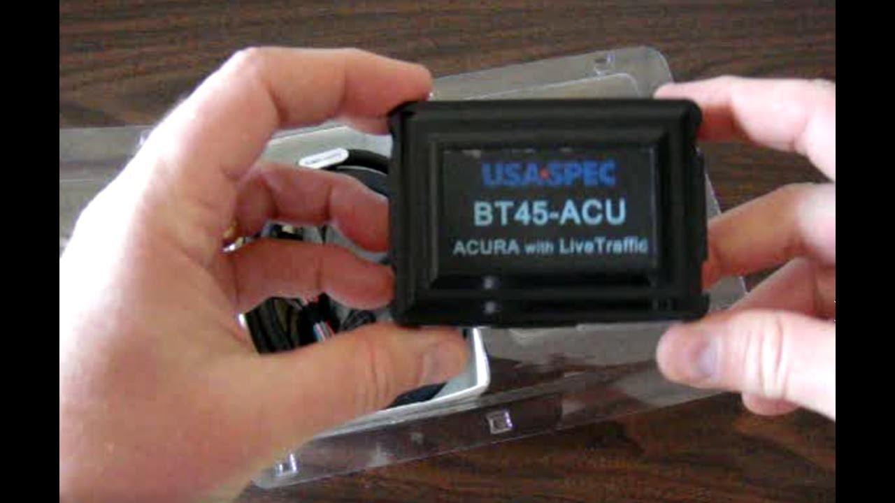 USA Spec BTACU Bluetooth Install On Acura MDX YouTube - 2018 acura tl bluetooth module