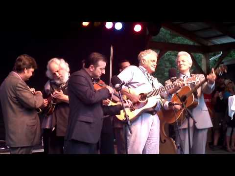 Floydfest 2011 - Del McCoury - Peter Rowan - David Grisman - Little Girl & The Dreadful Snake