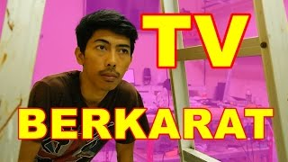 TV LED Garis Acak Berkarat VLOG11