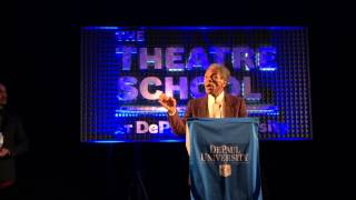 André De Shields receives 2015 Award for Excellence in the Arts from The Theatre School