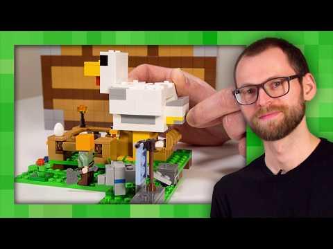 Chicken Coop - LEGO Minecraft - Designer Video