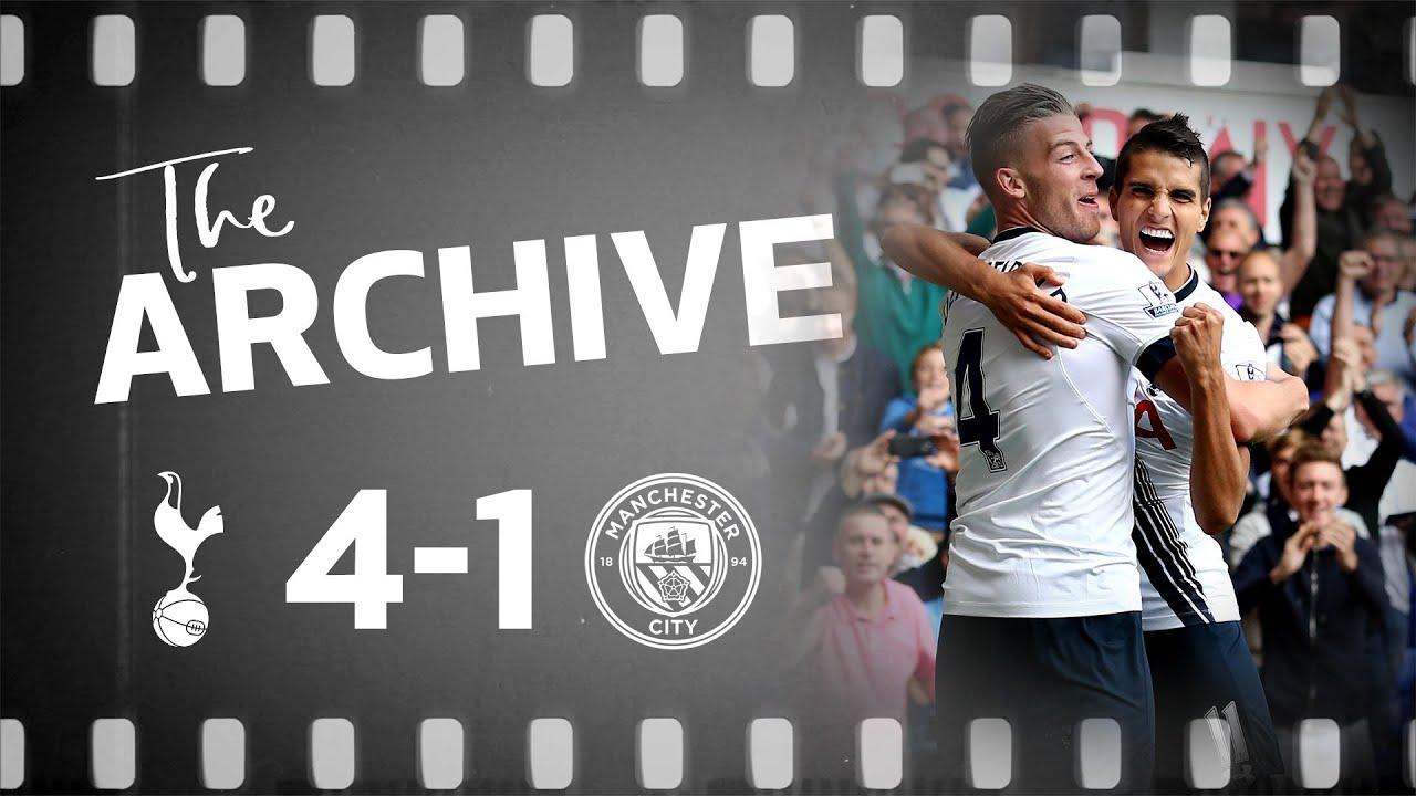 Download THE ARCHIVE   SPURS 4-1 MAN CITY   Dier, Alderweireld, Kane and Lamela all score in City win!