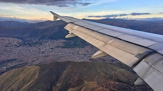 DANGEROUS APPROACH!! | LATAM Airbus A319 Landing in Cusco Peru!