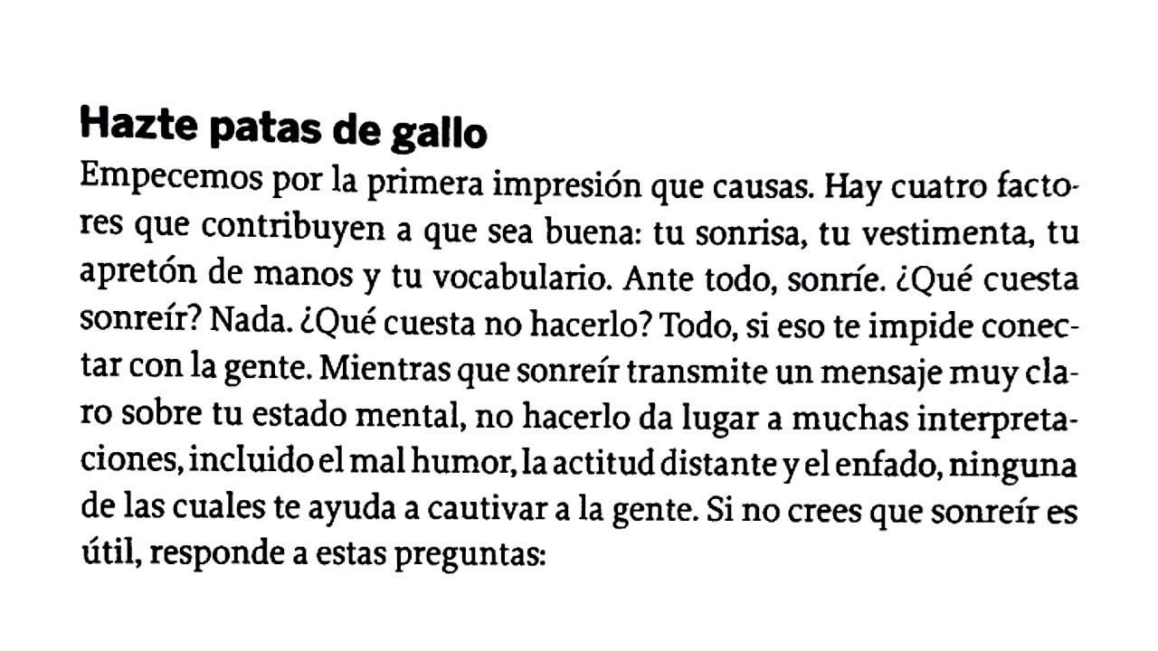 dictado en castellano # 3: \