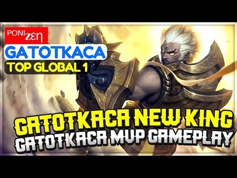 Shortplay : GatotKaca New King, GatotKaca MVP Gameplay [ Top Global 1  GatotKaca ] ᴾᴼᴺᴵzεη GatotKaca