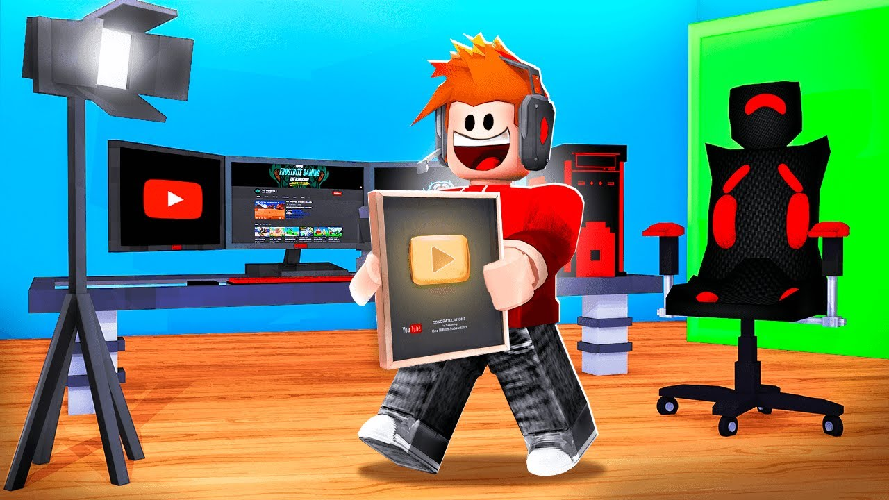 CHOP GAINED 100 MILLION SUBSCRIBERS ON YOUTUBE ROBLOX