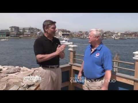 "Champlin's Seafood, a ""Discover Rhode Island"" business segment"