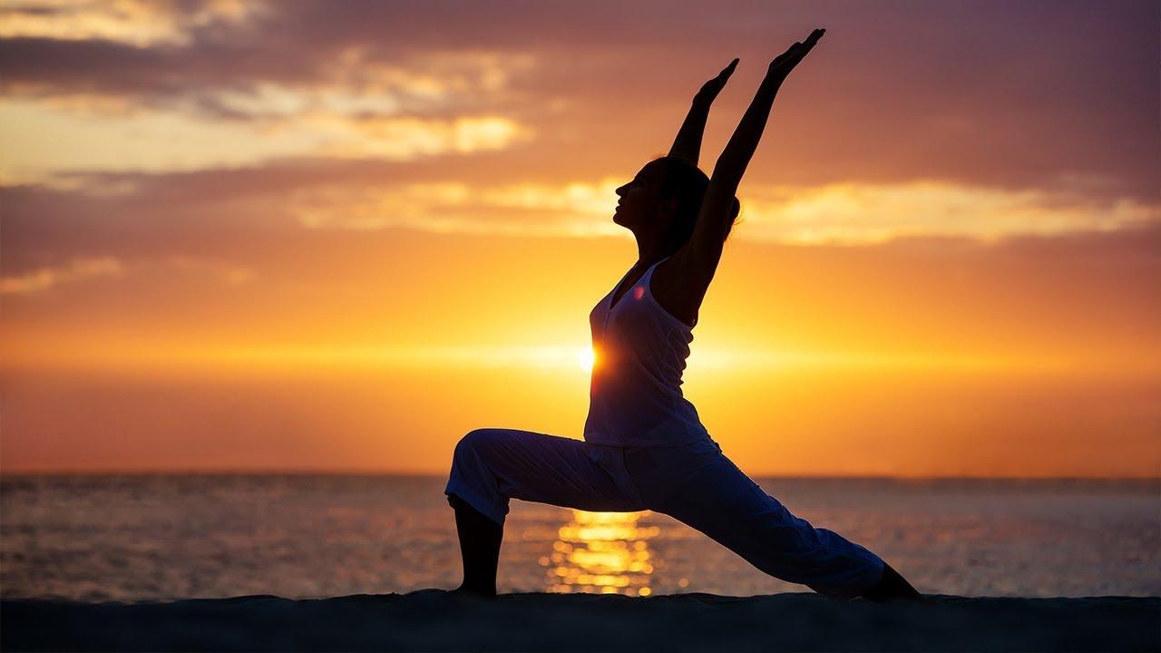 yoga music relaxing energy positive slow