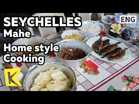 【K】Seychelles Travel-Mahe[세이셸 여행-마헤]가정식 요리/Home style cooking/Alcohol/Creole/Traditional/Bread Fruit