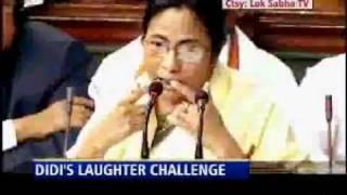 Mamata Banerjee laughter show