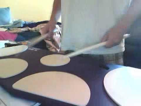 quad practice pad cadence starliners drumline 2008 youtube. Black Bedroom Furniture Sets. Home Design Ideas