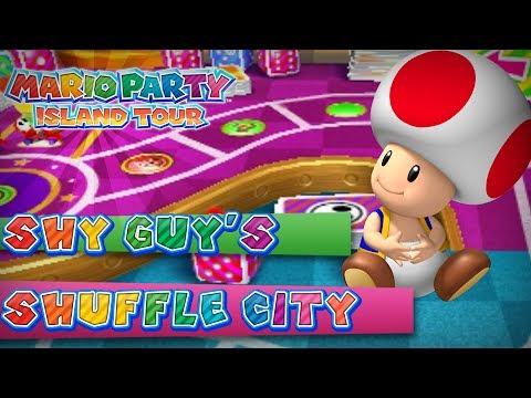 Mario Party Island Tour Shy Guy S Shuffle City