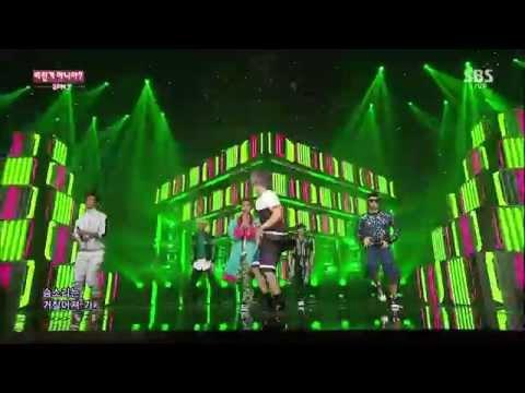 "2PM ""미친거 아니야?(GO CRAZY!)"" Stage @SBS Inkigayo 2014.10.05"