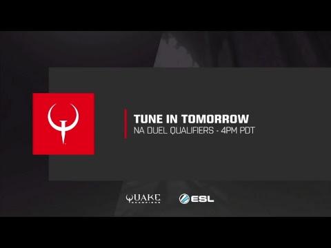 Quake Champions - World Championships EU Duel Qualfiers -  Week 2