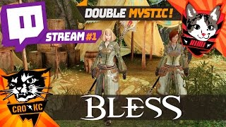 Bless Online Double Mystic, on test et c'est puissant ! Stream #1