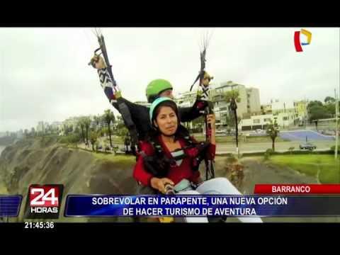 Parapente en Barranco: nueva opción para hacer turismo de aventura