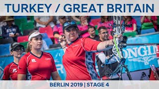 Turkey v Great Britain - compound women's team gold | Berlin 2019 World Cup S4