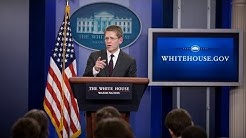 10/31/13: White House Press Briefing