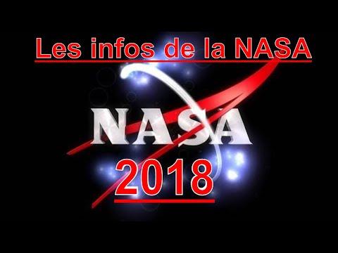 LES INFOS DE LA NASA Janvier 2018 - RETROSPECTIVE 2017