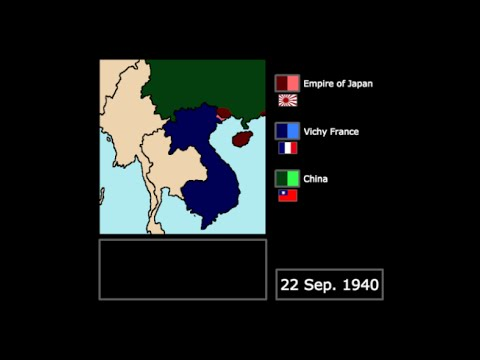 [Wars] The Japanese Invasion of French Indochina (1940): Every Day