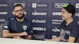 "Interview with Gabriel ""FalleN"" Toledo [РУ Титры] on Blast Pro Series Moscow"