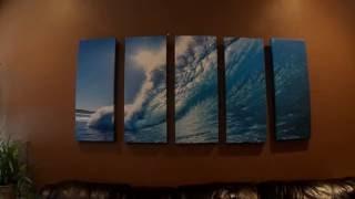 Vibrant Canvas 5 pc Seascape Ocean Wave Wall Art Review