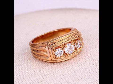 Мужская печатка кольцо медицинское золото
