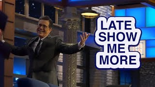 LATE SHOW ME MORE: A Delight