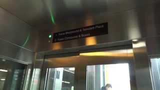 Schindler? Hydraulic elevator @ Victoria Park Subway Station, Toronto, ON, Canada.