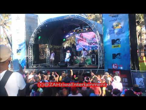 DJ Tira & Tipcee   Amadada Live #DubaneSpringBreak  Performance  Ushaka Marine World