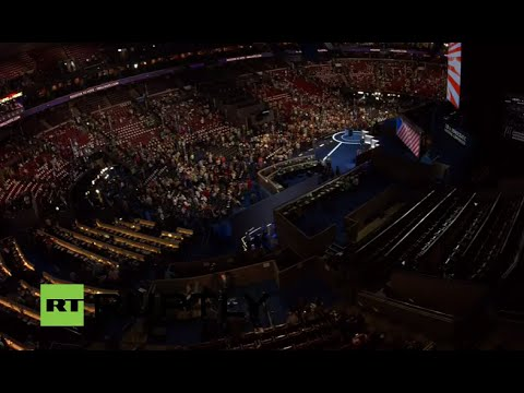 LIVE: Democratic party convention continues after nomination of Clinton as presidential candidate