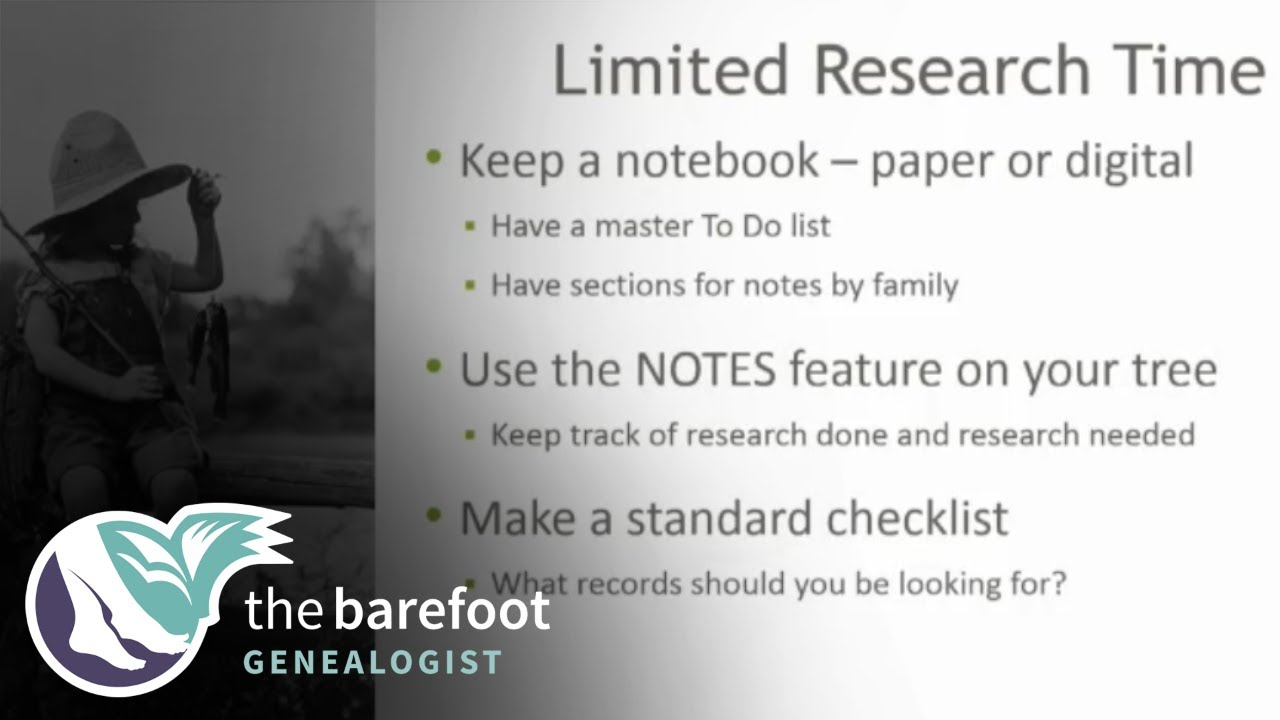 Genealogy Basics:  Tips for Getting the Most Out of Limited Research Time | Ancestry