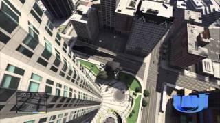 【GTA5】ビルから乗り物に乗って落下!! thumbnail